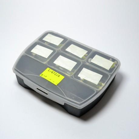 Zestaw bezpieczników szklanych duże (320 mm)