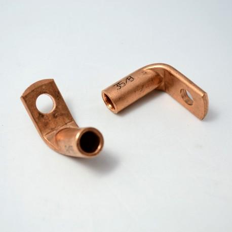 Końcówka kablowa kp-35/8 cu /kątowa