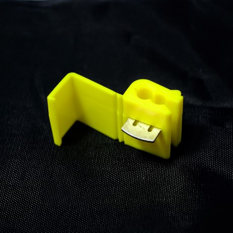 Złącze instalacyjne z/4! (100 szt.) żółty