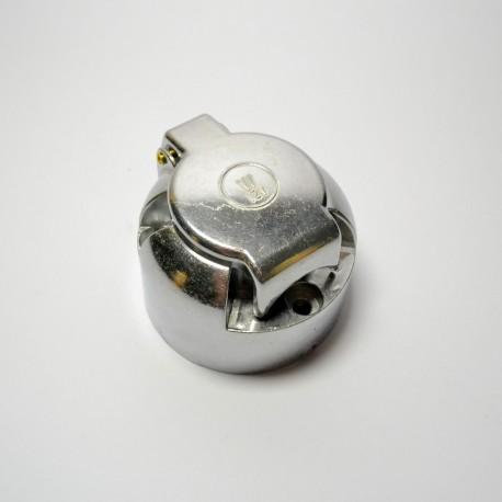 Gniaz do do przyczepy 7-bieg. 12V metalowy