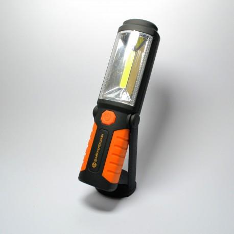 Lampa warsztatowa 5W cob LED + 5 LED