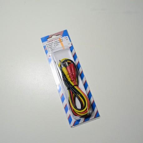 Przewód pom. TML-3szt krokodylek/wtyk